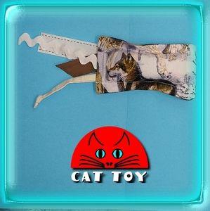 😺 Unique handmade catnip cat toy wolf animal